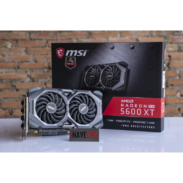 iHACEVPU การ์ดจอ AMD RX5600XT MSI MECH 6GB SKU-62572