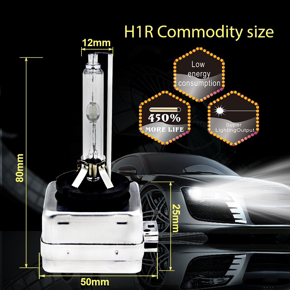 2x D1S HID Xenon White 6000K Bulbs 35W Replacement Headlights Low Beam Ford