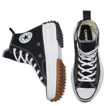 เพิ่มความสูงให้กับรองเท้าผ้าใบ   Converse Run Star Hike Unisex ของ แท้ Outdoor Shoes