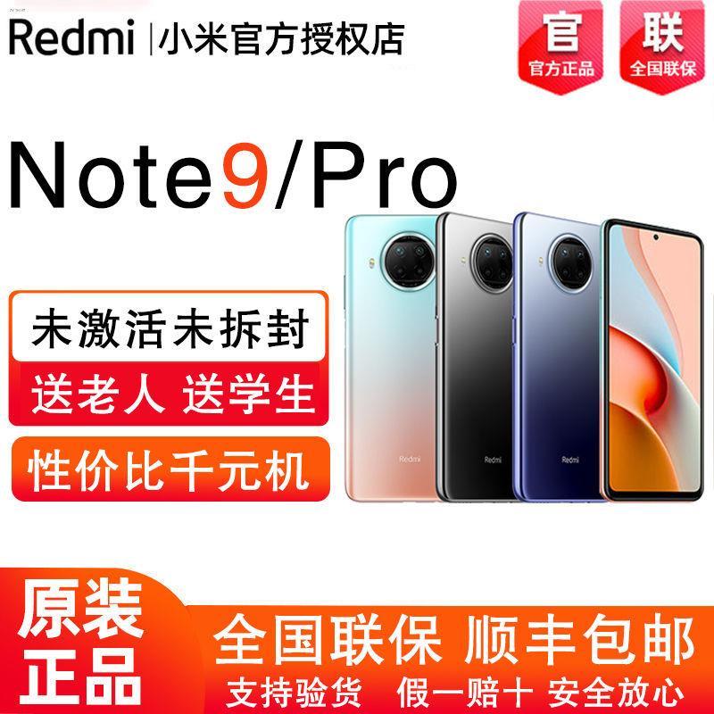 ♞✴Redmi Note9Pro 5G Xiaomi 5g โทรศัพท์มือถือ Redmi ใหม่ note9 แบตเตอรี่ เกม กล้อง สมาร์ทโฟน
