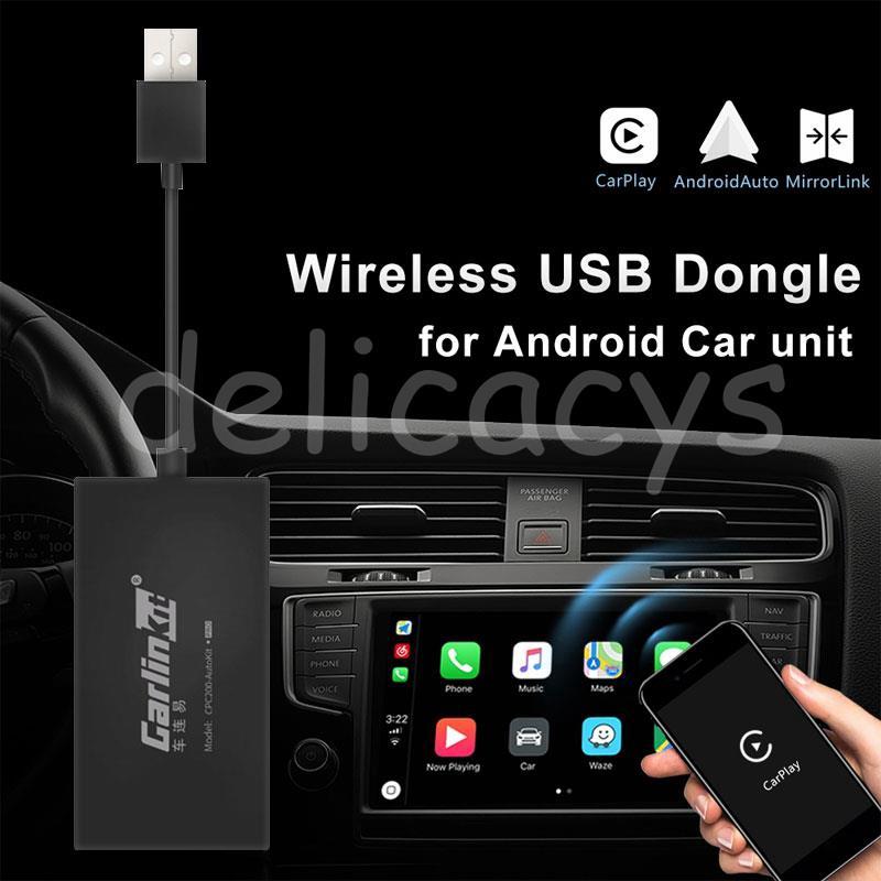 อุปกรณ์ DEL Apple CarPlay USB Auto Link Dongle Car Link Dongle สำหรับ Universal
