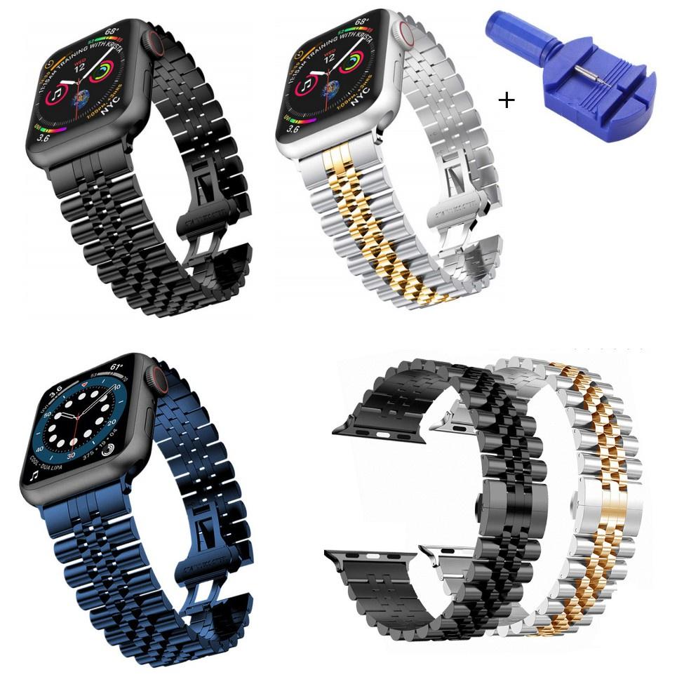 ◘℗สาย Applewatch Premium สายนาฬิกา applewatch series 6 5 4 3 2,Apple watch SE Stainless Steel apple watch Strap size 38ม
