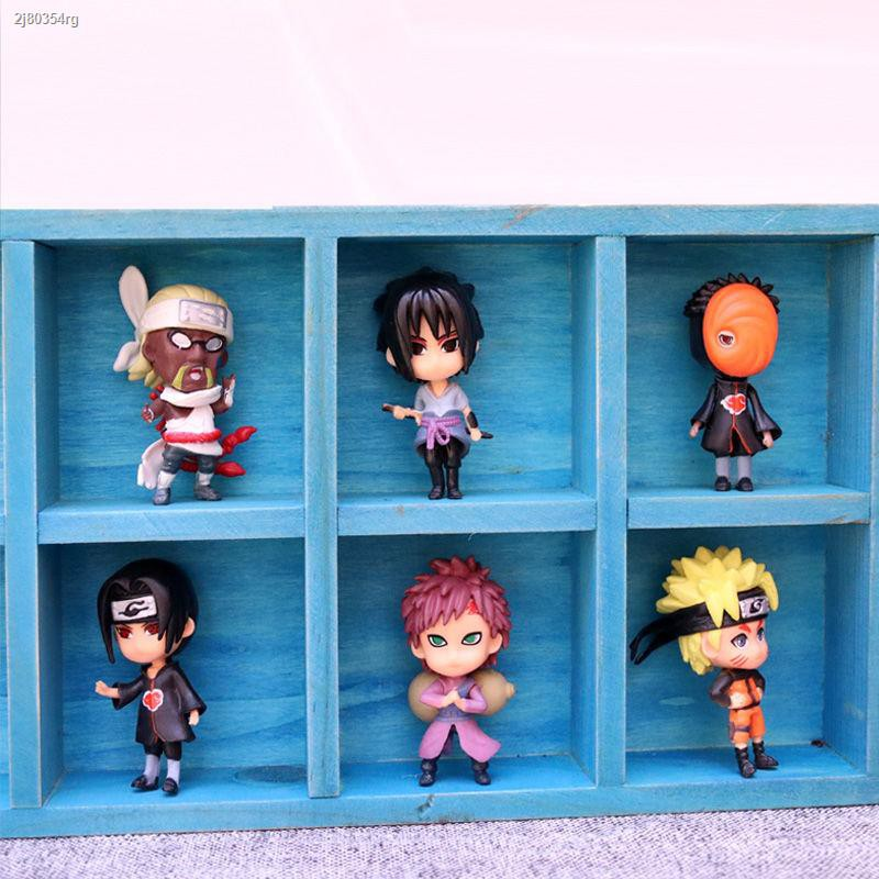 กรุงเทพ!!﹉Japan Naruto Figure Blind Bag Box Doll Sasuke Kakashi I Gaara Itachi Small Ornament [โพสต์เมื่อ 18 กุมภาพันธ