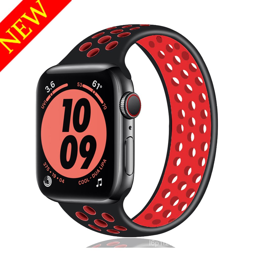Solo Loop strap for Apple Watch Band 44mm 40mm iwatch band 38mm 42mm Elastic Silicone bracelet apple watch series 6 se 5