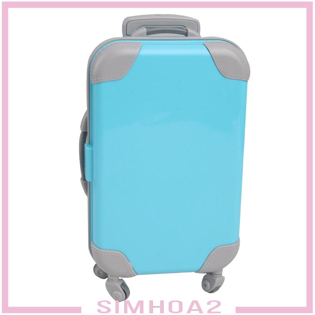 ( Simhoa 2 ) กระเป๋าเดินทางขนาดเล็ก 18 นิ้วสําหรับตุ๊กตา