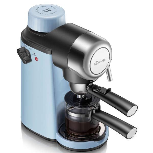 เครื่องชงกาแฟ Bear เครื่องชงกาแฟอัตโนมัติขนาดเล็กเครื่องทำฟองนมแบบสกัดแรงดันสูงในเชิงพาณิชย์