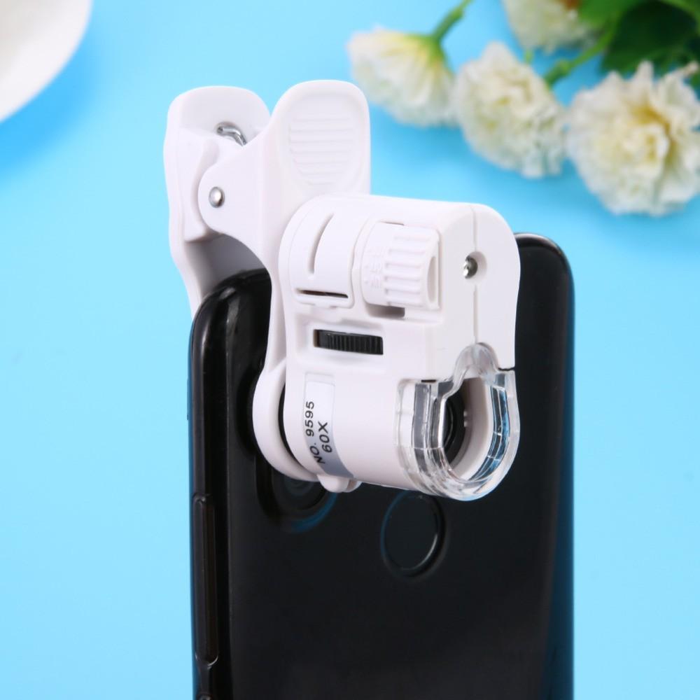 กล้องส่องพระ ติดมือถือ ขยายภาพ  ขณะบันทึกวีดีโอหรือภาพนิ่ง แว่นส่องพระ แว่นขยายส่องพระ Digital microscope 60X,100X,1000X