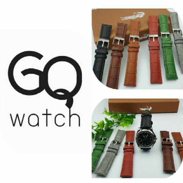 สาย applewatch แท้ สาย applewatch GQ watch สายนาฬิกา แบบสีเยอะที่สุด หนังแท้ ลายจระเข้ รูปทรงสวย รุ่น Croco wristwatch s