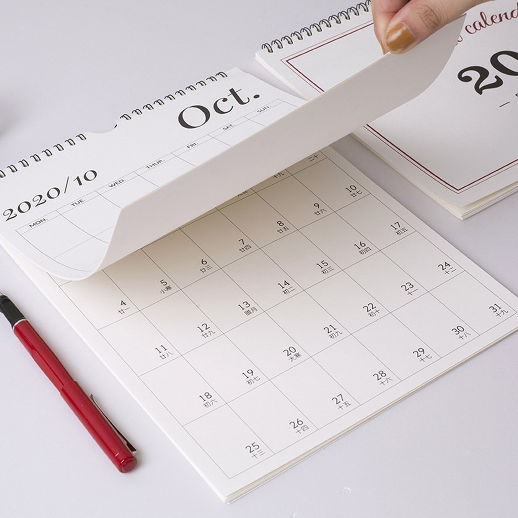 Details about  /1X 2021 Tearable Hanging Calendar Weekly Annual Agenda Planner Daily Scheduler