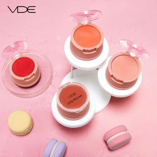 VDE Hua Yang soft mist blush vitality girl ins super fire natural nude makeup brighten skin tone without makeup rouge 80