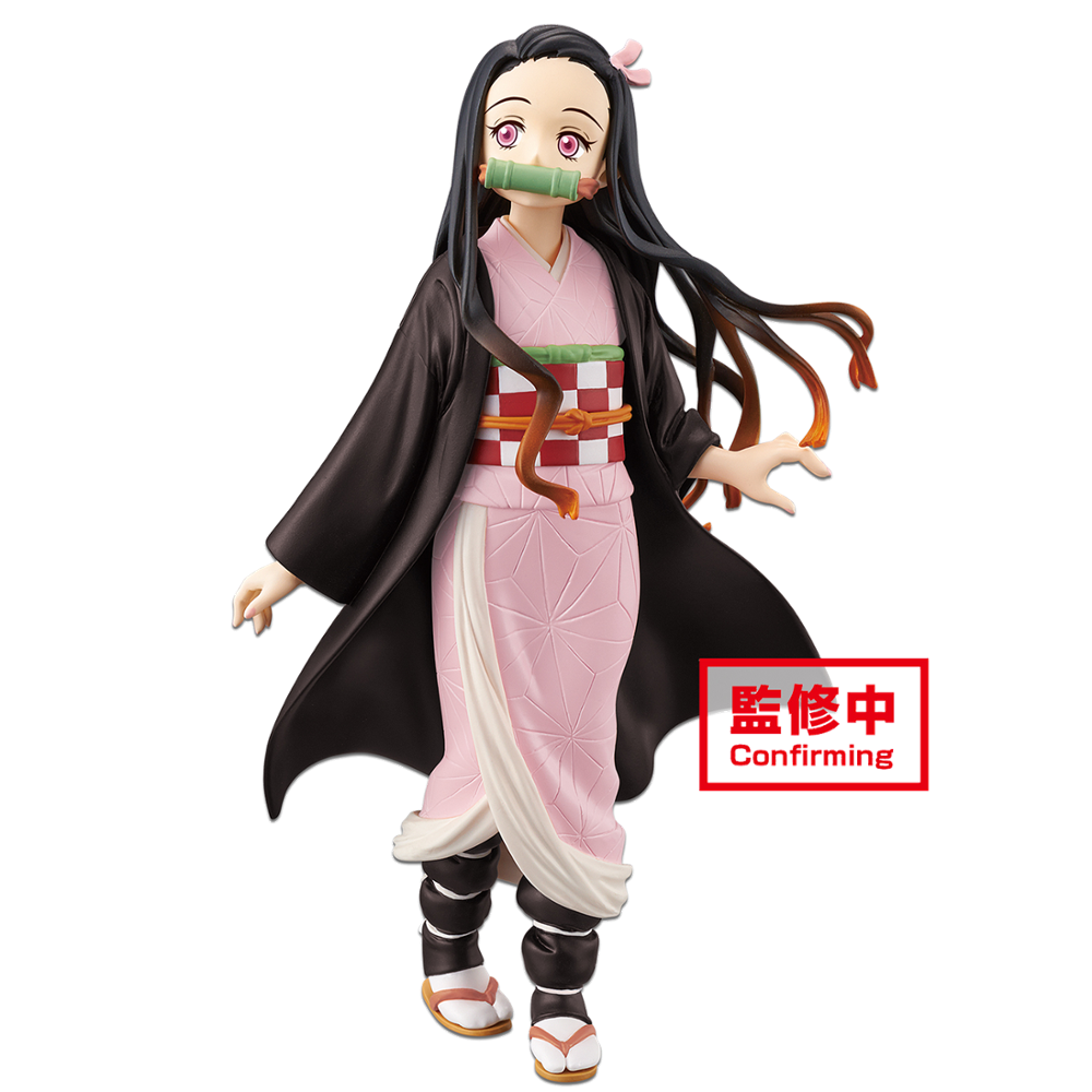Original Banpresto Japaense Anime Demon Slayer Figure Kamado Nezuko Action Figure Colletible Model Toys