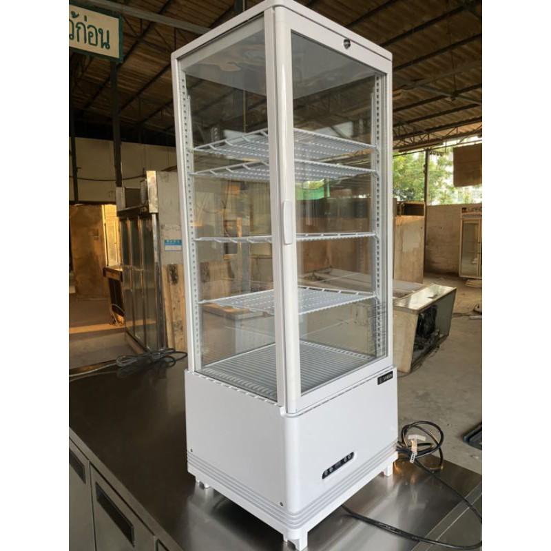 Sale ผ่อน0%=10เดือน ส่งฟรี มือสองสภาพใหม่ ตู้แช่เค้ก SANDEN INTERCOOL รุ่น SAG-0983 มือสองสภาพเหมือนใหม่