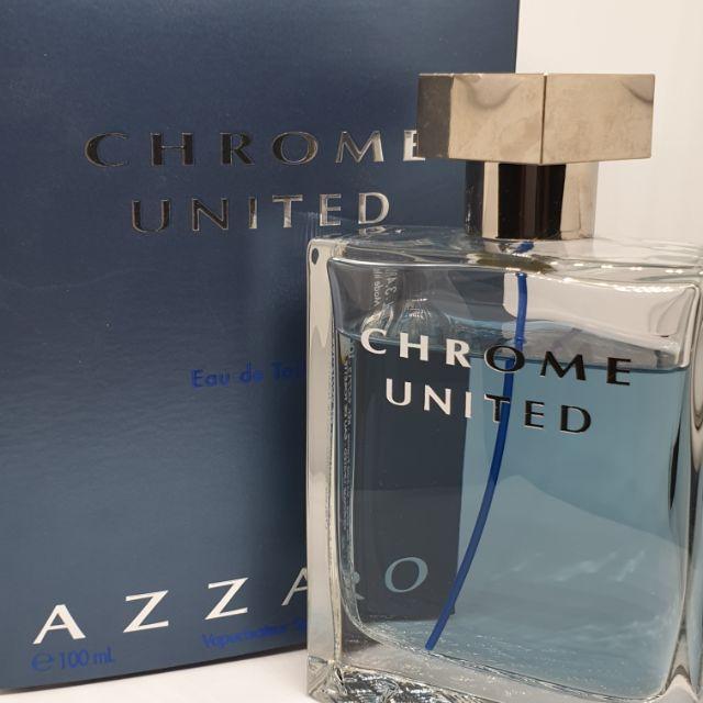 น้ำหอมมือสอง Azzaro Chrome United EDT 100 ml