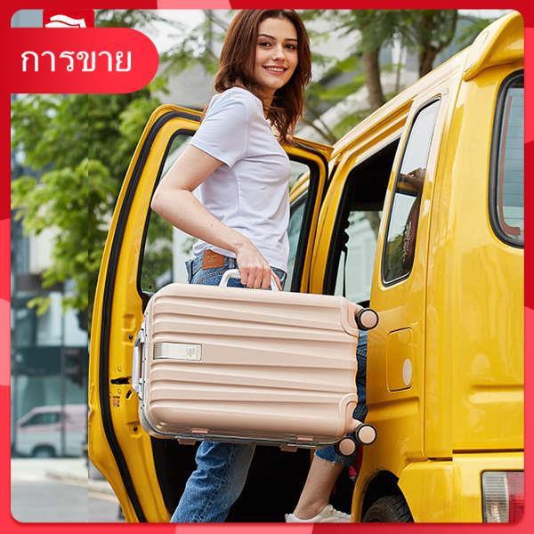 Hanke กรอบอลูมิเนียมรถเข็นหญิง Universal 22 กระเป๋าเดินทาง 26 กระเป๋าเดินทางขนาดใหญ่ 20 กระเป๋าเดินทางขนาดเล็กชาย 24 นิ้