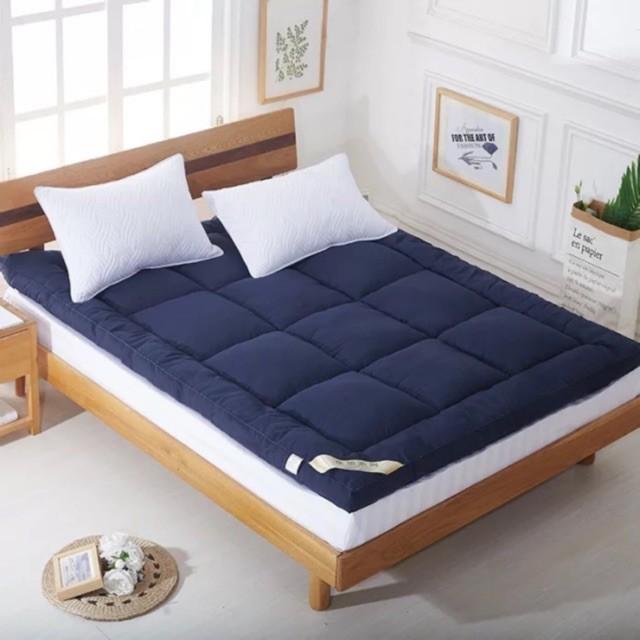 TPP ท็อปเปอร์ Topper ท็อปเปอร์เบาะรองนอนเพื่อสุขภาพ วัสดุขนห่านเทียม ขนาด 3.5/5/6 ฟุต   ที่นอน รองนอน แจ้งสีในแชท