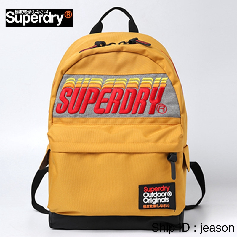 ล่าสุด superdry กระเป๋าการเดินทาง กระเป๋าเป้ Sports backpack กระเป๋าสะพายหลัง กระเป๋าสตรี