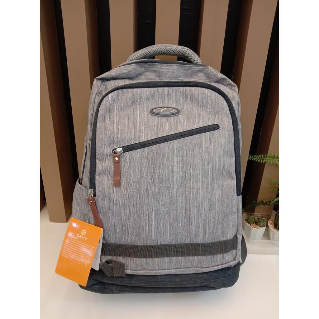 กระเป๋าเป้ DEVY สีเทา