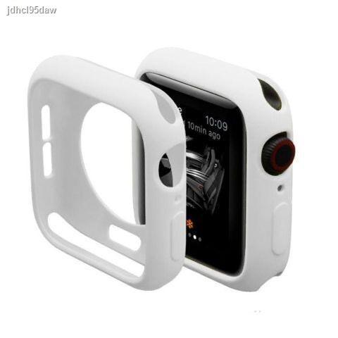【hot】►Apple Watch shell Series5 ฝาครอบป้องกัน 3 Applewatch4 Candy ซิลิโคนนาฬิกาเคสเคสป้องกันแบบนุ่มรวมทุกอย่าง