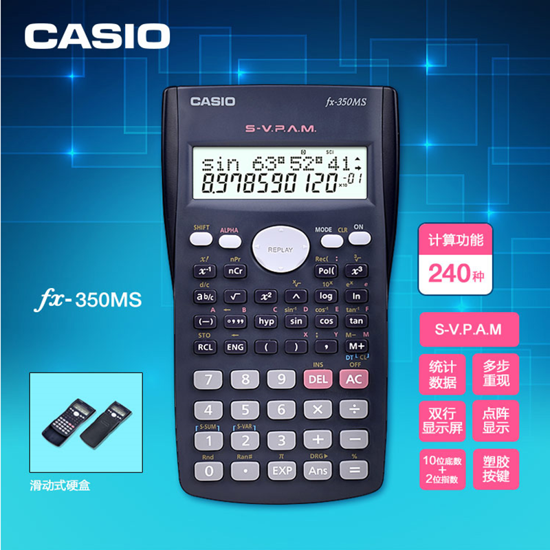 CalculatorCasio CalculatorFX-82MS FX95 FX350MSScience Examination Student Multifunctional Function ComputerHome delivery