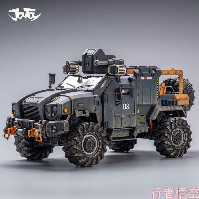 Dark Source Hurricane Reloaded War Off-Road Vehicle 1/18 Soldier 3.75 Inch Action Figure Vehicle Figure ฝนกรด