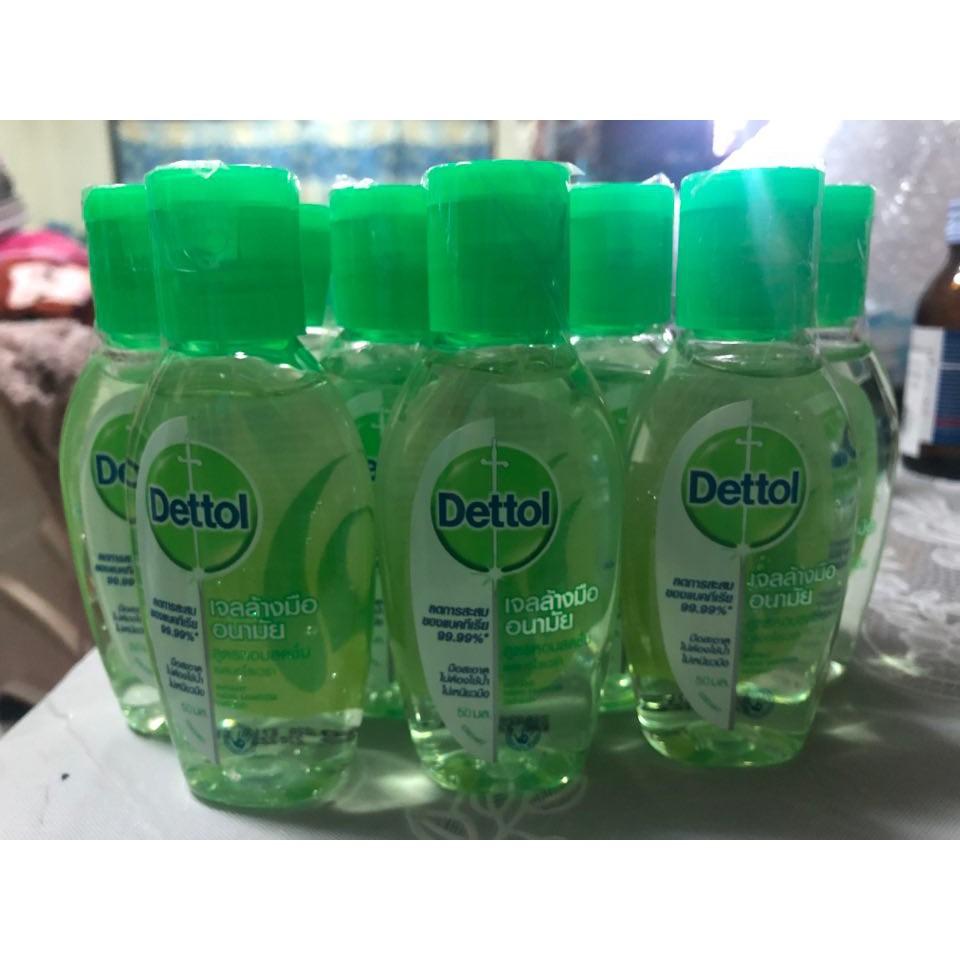 เจลล้างมือ ไม่ใช้น้ำ Dettol