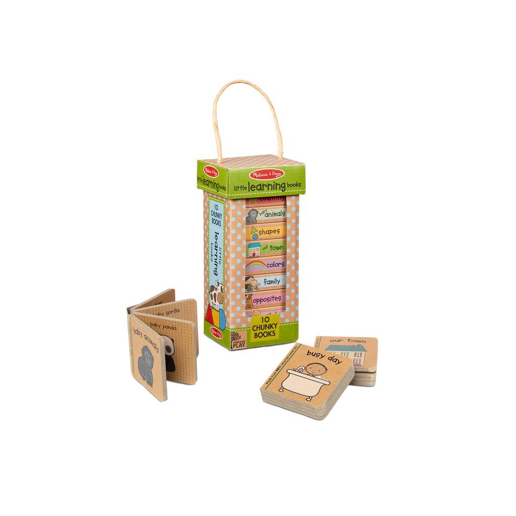 ของเล่นอเมริกา, ชุดหนังสือเด็กเล็ก 10 เล่ม, รุ่นสิ่งรอบตัว, Natural Play Book Tower : Little Learning Books