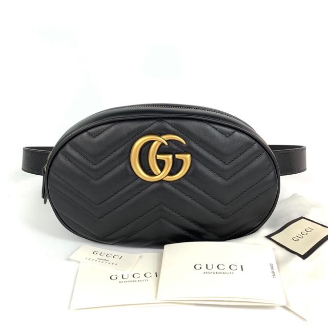 New! Gucci belt bag size 85 cm ขนาดกระเป๋า 22