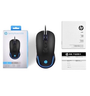 HP M200 USB Esport Backlit Gaming Mouse,Macro Programming Keys Home Office  Mouse