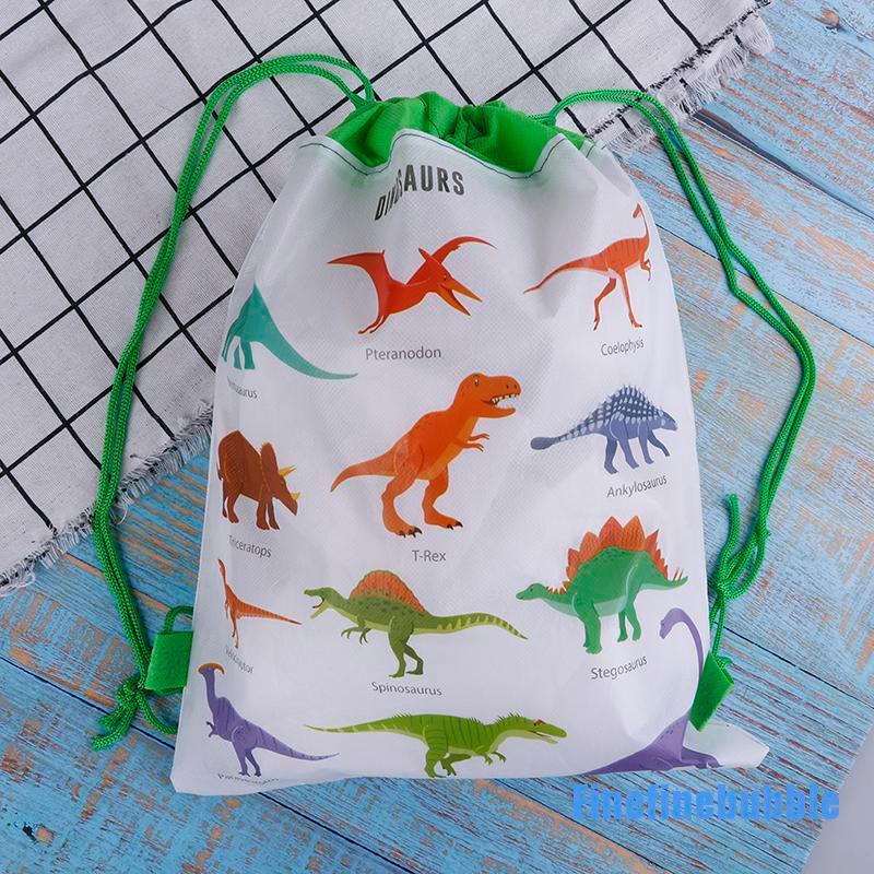 ( Finefinejble 0407 ) กระเป๋าเป้สะพายหลังลายไดโนเสาร์เหมาะกับการพกพาเดินทาง