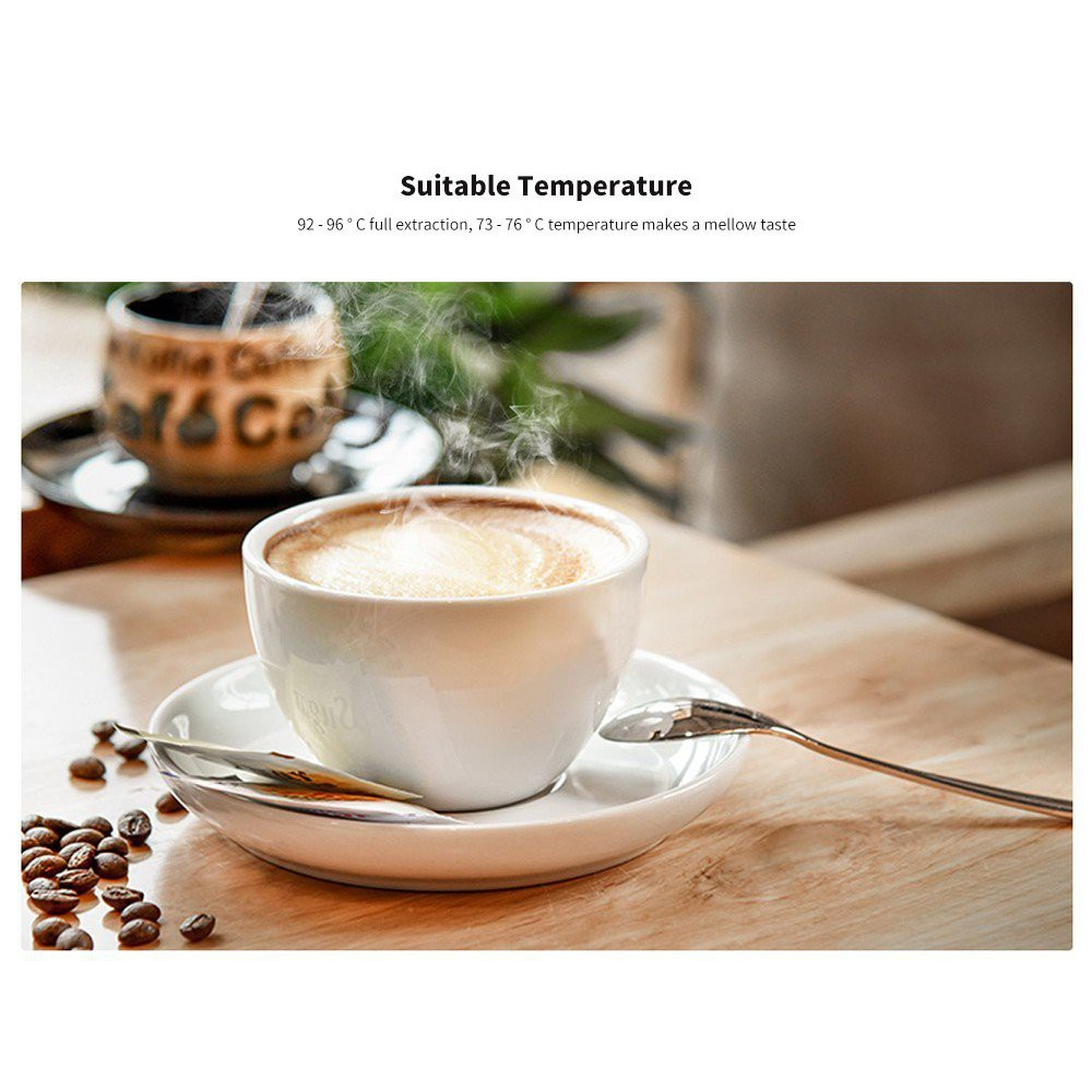 Xiaomi เครื่องทำกาแฟขนาดมินิมอล Youpin YOULG Large Capacity Drip Type Coffee Machine กาทำกาแฟขนาดพกพา เครื่องทำกาแฟ Kuev