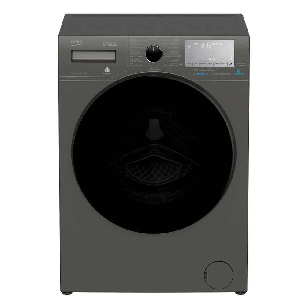 Washing machine FL WM BEKO WCV10749XMST10KG 1400INV Washing machine Electrical appliances เครื่องซักผ้า เครื่องซักผ้าฝาห