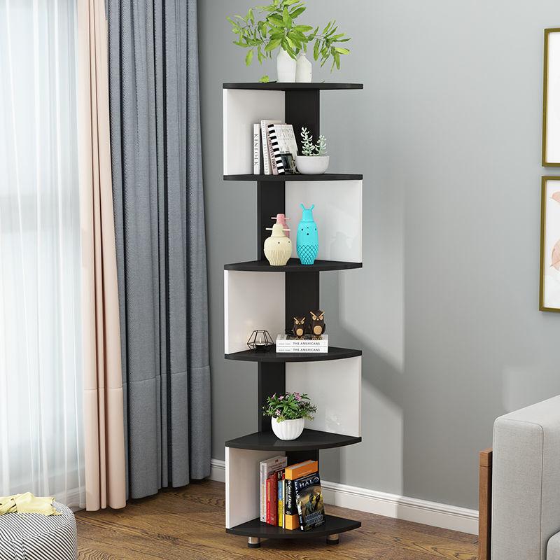 Simple Floor To Ceiling Corner Cabinet, Living Room Corner Shelf
