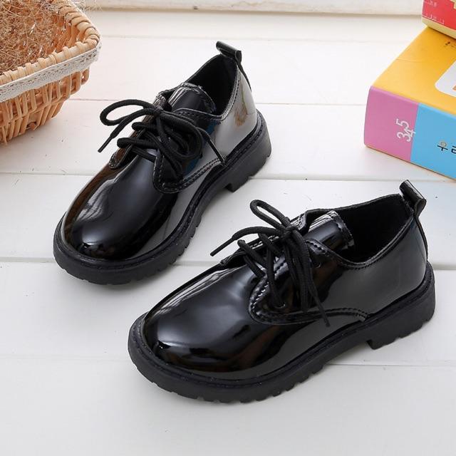 รองเท้าคัชชูเด็ก ใส่ได้ทั้งหญิง และชาย >> พร้อมส่งค่ะ