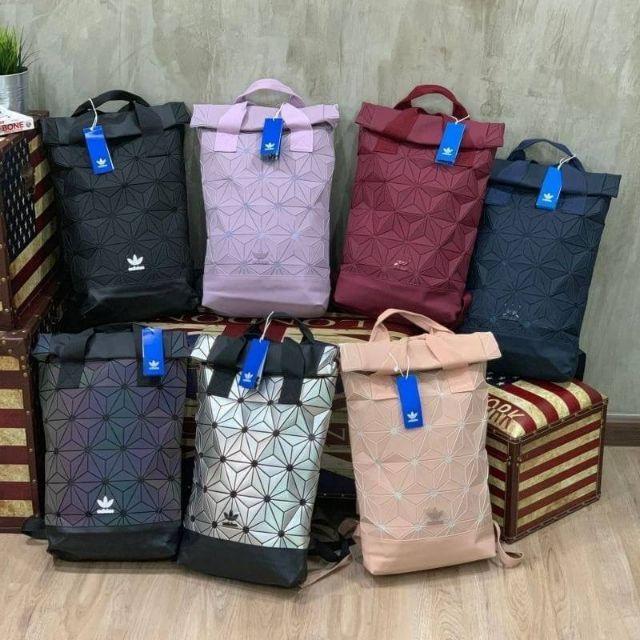 กระเป๋าเป้สะพายหลัง เปิดปิดแบบ Roll Top (Adidas 3D Roll Backpack)