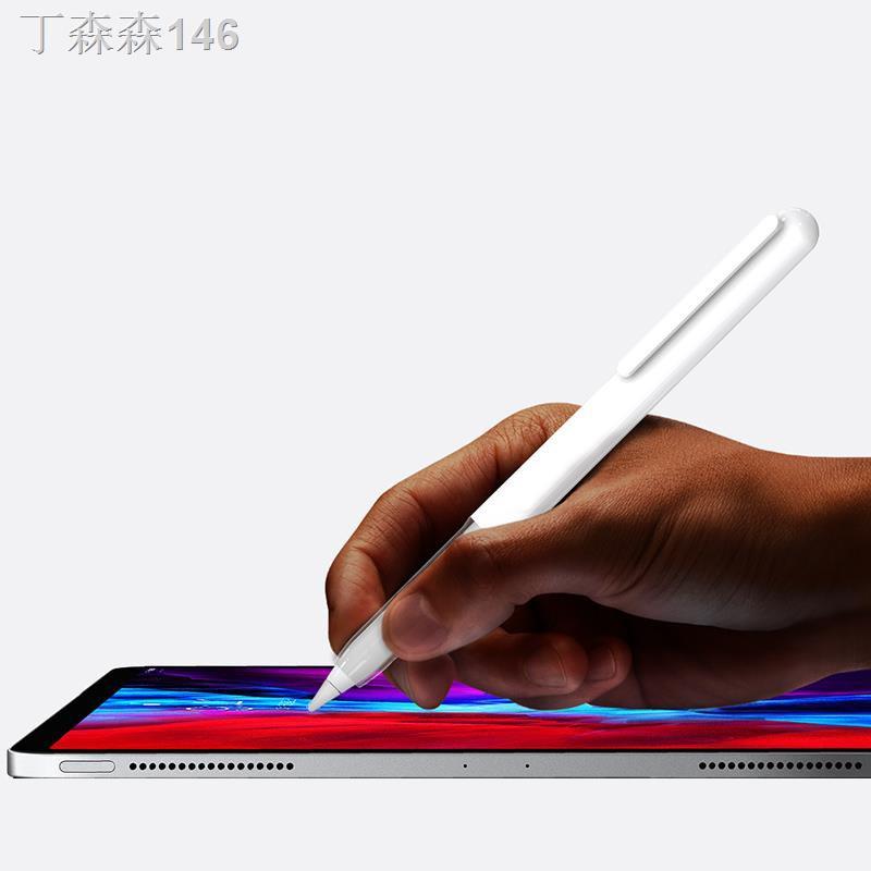 ❒☒Apple Applepencil 2 รุ่นฝาครอบป้องกันปากกาฝาครอบกันลื่นอุปกรณ์เสริม iPad stylus รุ่นที่สองที่สร้างสรรค์ ป้องกันการสูญห
