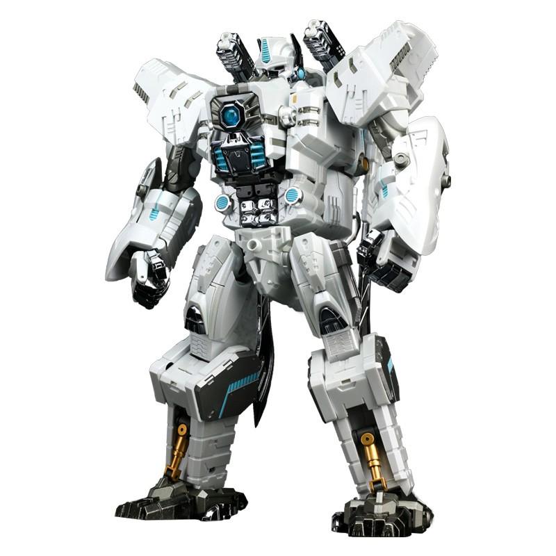 รุ่น Transformers:Transformation Action Figure Generation Toy GT10A KO M32 White Gorilla 18.5CM O Commander Model Deform