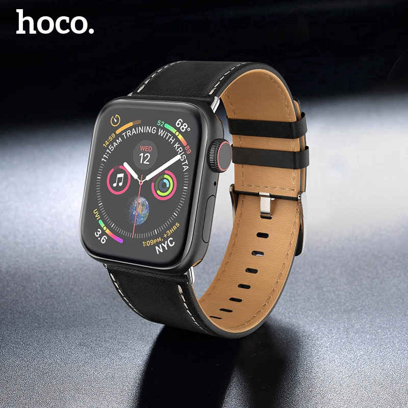【Apple Watch Strap】สายนาฬิกาข้อมือหนังวัวแท้สำหรับ Apple Watch Series 5 6 se 4 3 2 1 38 มม. 40 มม. 42 มม.