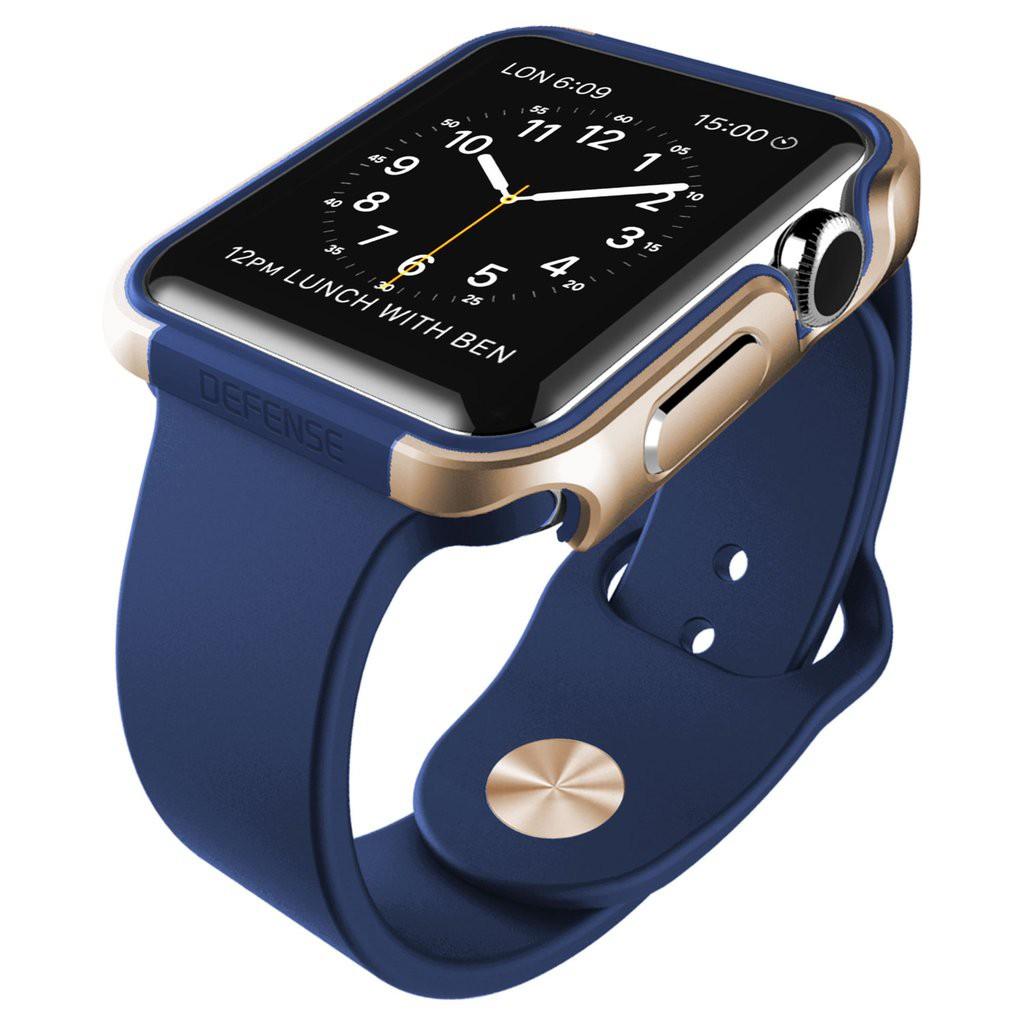 X-Doria 42mm Apple Watch Case Defense Edge (สีน้ำเงิน)