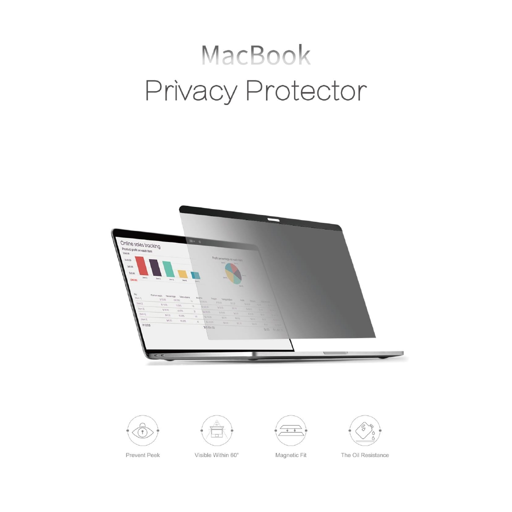For Apple MacBook Air Pro 100/% Authentic Tempered Glass Screen Premium Protector