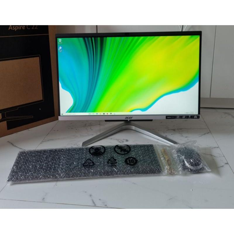 Acer all in one core i3 มี m.2 ยกกล่อง ประกันยาวๆ