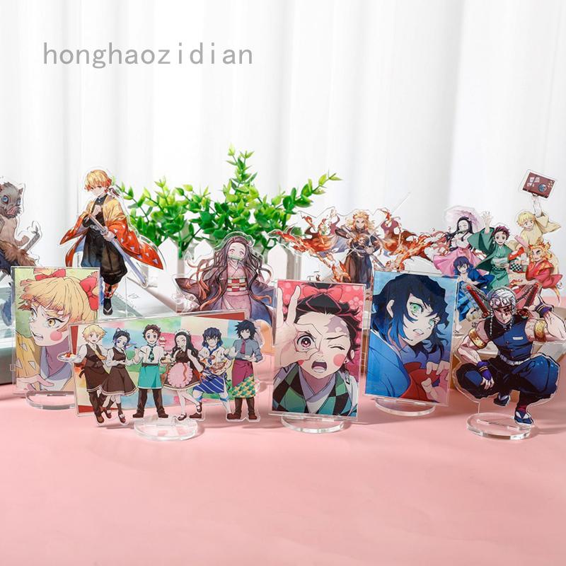 Anime Demon Slayer Kamado Nezuko Cosplay Acrylic Stand Figure Model Desktop Decor Gift