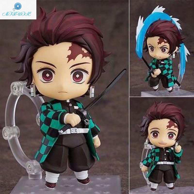 Demon Slayer Q Version Nendoroid PVC Anime Figure Cartoon Game Character Model Statue Figure Toy Collectibles Decor