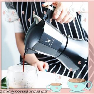 LCM 👑หม้อต้มกาแฟสดแบบไฟฟ้า เครื่องทำกาแฟ มอคค่าพอทไฟฟ้า หม้อต้มชากาแฟ หม้อ Moka pot ไฟฟ้า-SUPER!!!1001053
