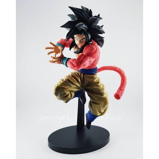 ฟิกเกอร์ Dragonball - Super Saiyan Goku ร่าง 4 (ลิงแดง)