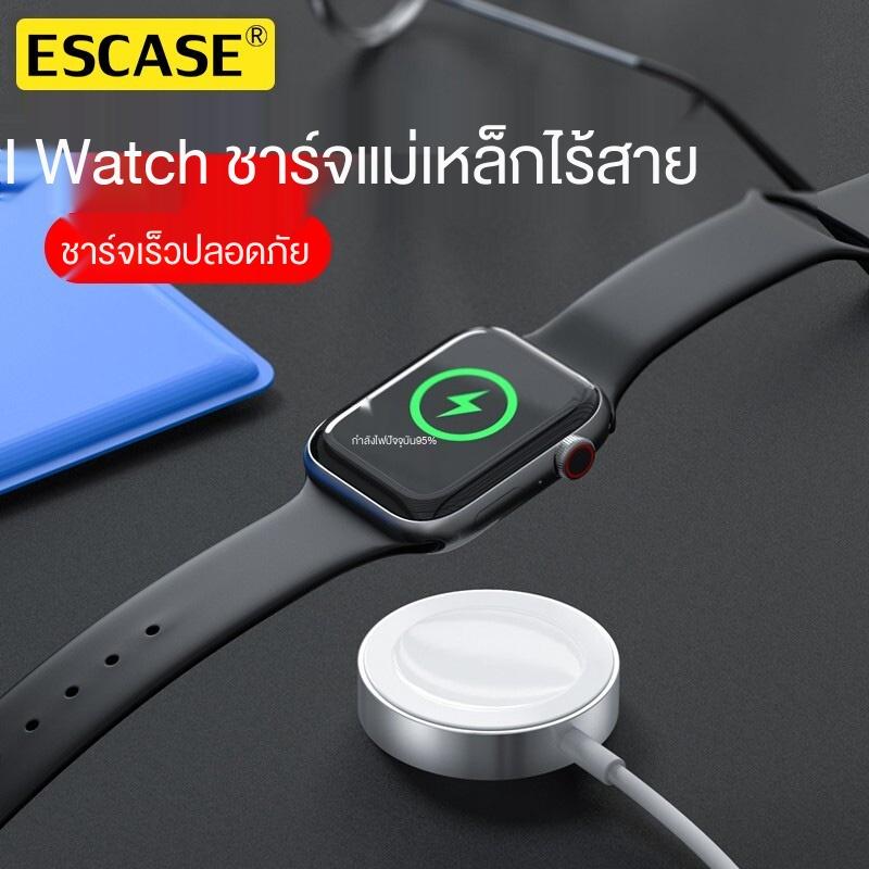 ♕✙ESCASE เหมาะสำหรับ Apple watch ที่ชาร์จ iwatch ไร้สาย iPhone watch 625 S5 สากลสี่ series6applewatch4 แม่เหล็ก se data