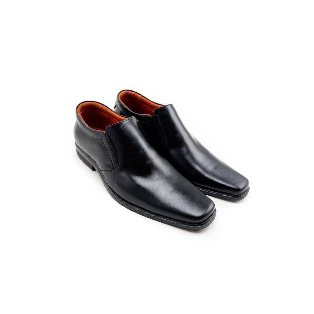 ✭LUIGI BATANI รองเท้าคัชชูหนังแท้ รุ่น LBD5003-51 สีดำ✰