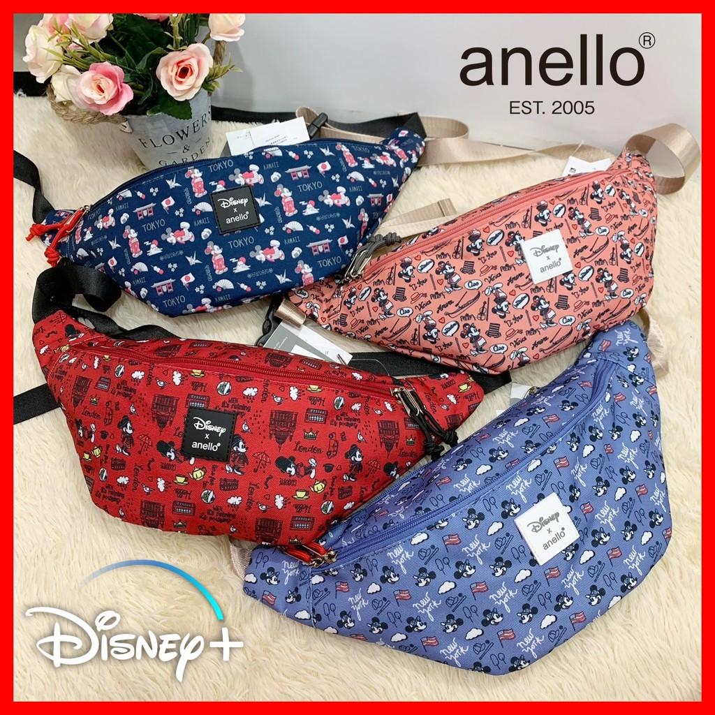 Anello แท้100% Disney Mickey กระเป๋าคาดอก คาดเอว คาดอก