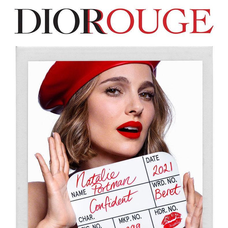 ลิปสติก Dior◈☑Dior Lipstick 999 Matte Moisturizing Classic Red Velvet Lipstick ของขวัญวันวาเลนไทน์สำหรับสาวๆ