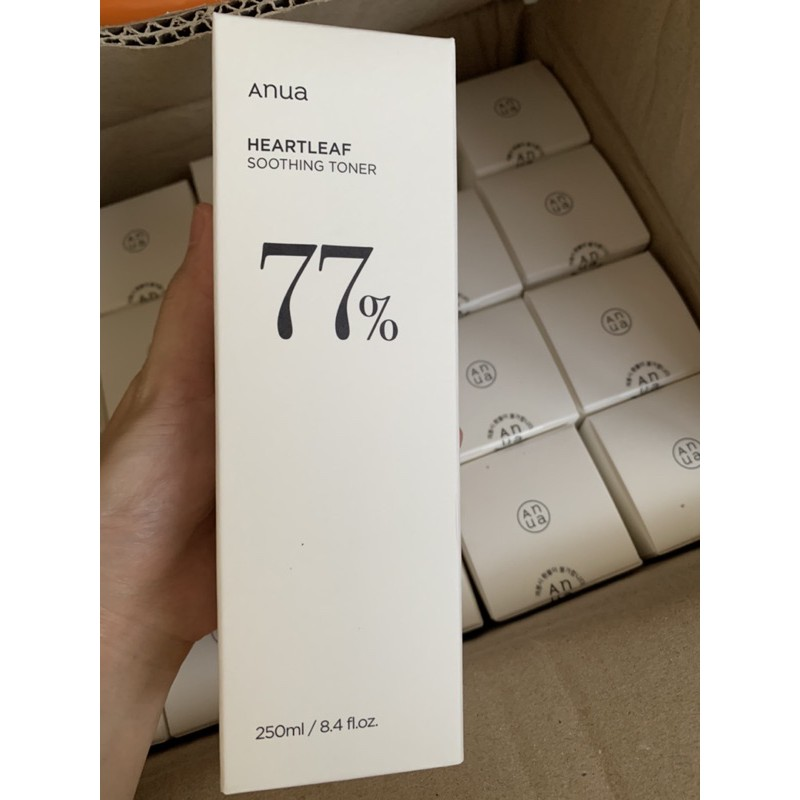 Anua Heartleaf 77% Soothing Toner 250ml พร้อมส่ง
