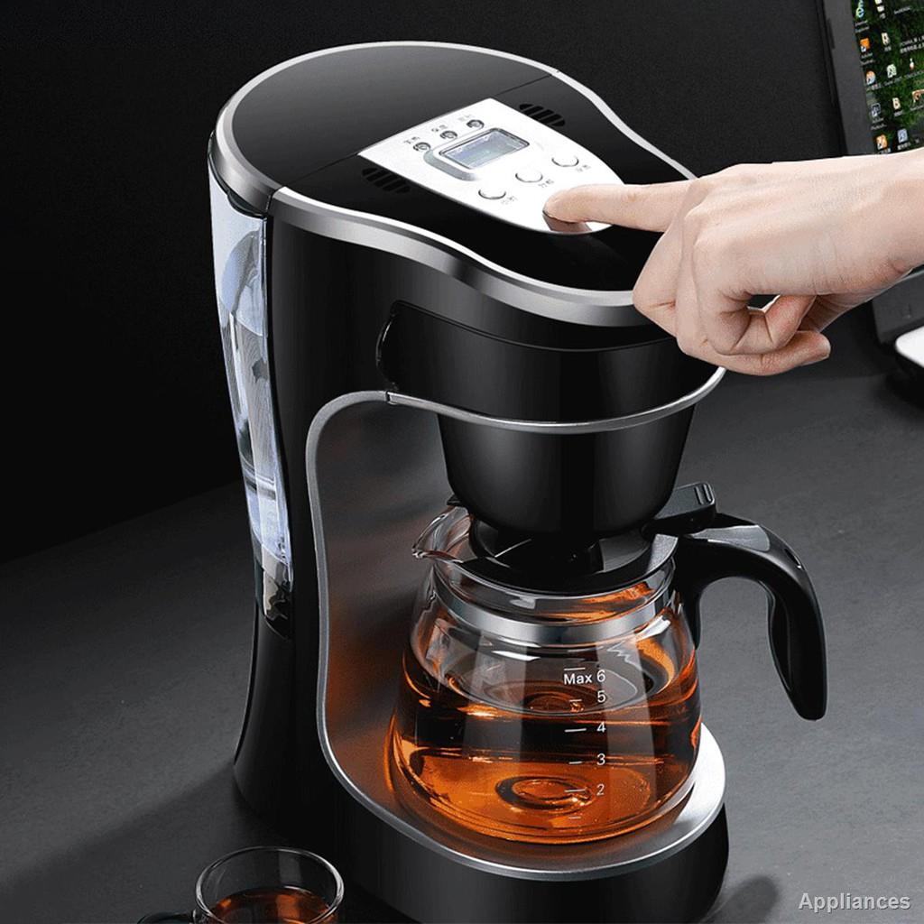💕เตรียมจัดส่ง💕☢♚♕เครื่องชงกาแฟ เครื่องชงกาแฟเอสเพรสโซ เครื่องทำกาแฟขนาดเล็ก เครื่องทำกาแฟกึ่งอัตโนมติ Coffee maker เค